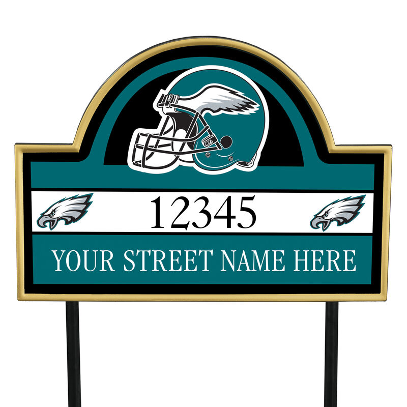 NFL Pride Personalized Address Plaques 5463 0405 a eagles