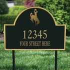 The Wyoming Personalized Address Plaque 1073 004 2 2