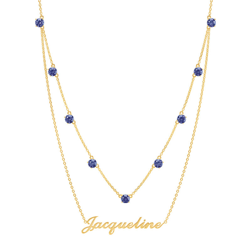 The Birthstone Layered Necklace 6788 001 3 2
