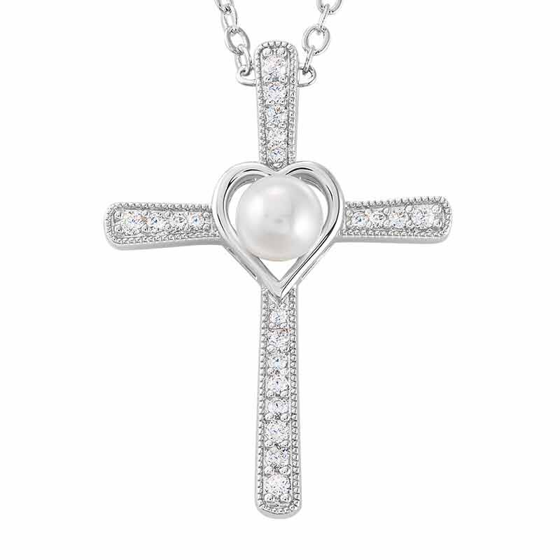 Parable of the Pearl Cross Pendant 6039 001 0 1