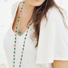 Layers of Sparkle Crystal Necklace Collection 10027 0016 m model