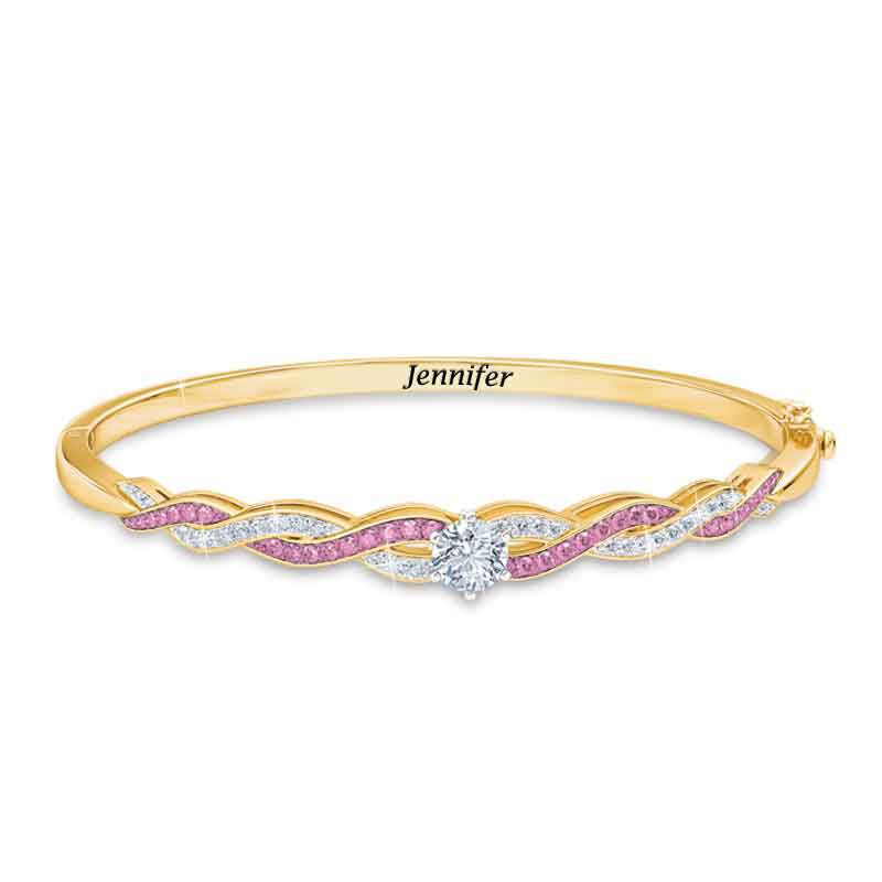 Birthstone Swirl Bracelet 5821 001 4 6