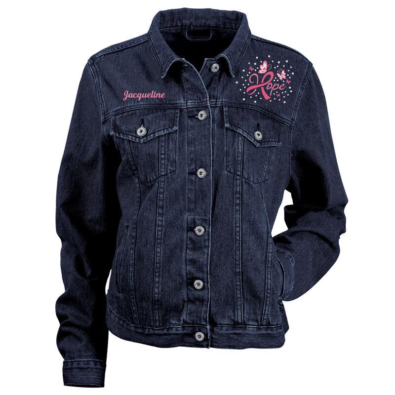 Personalized Hope Denim Jacket 10457 0015 a main