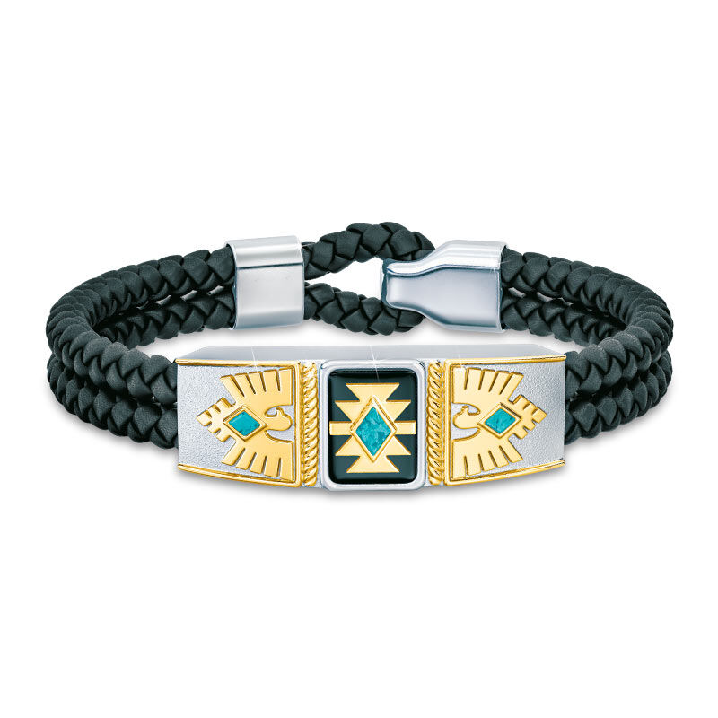 Son Southwest Leather Bracelet 2004 001 0 1