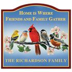 The Songbird Personalized Welcome Sign 6060 001 2 1