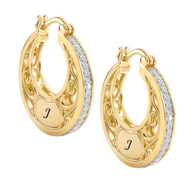 The Personalized Golden Hoops 6110 0020 a main