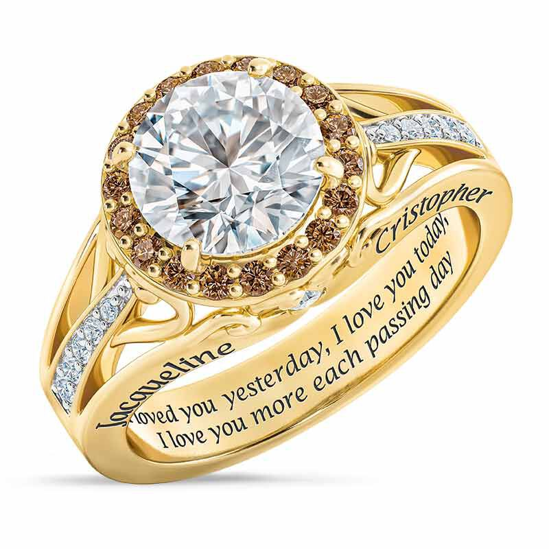 Once Upon A Love Story Personalized Couples Ring 6239 001 8 1