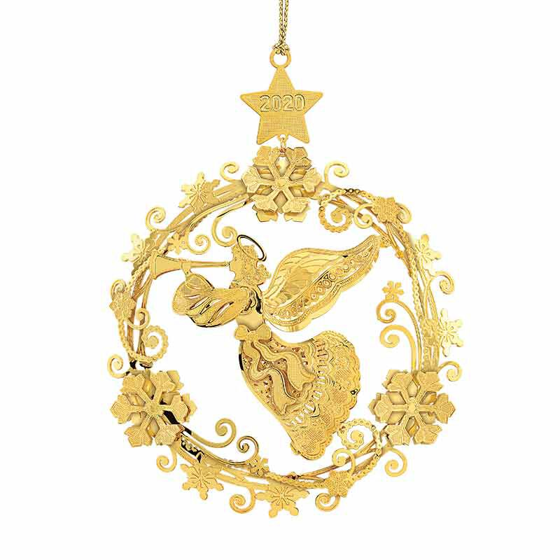 The 2020 Gold Christmas Ornament Collection 2161 006 8 6