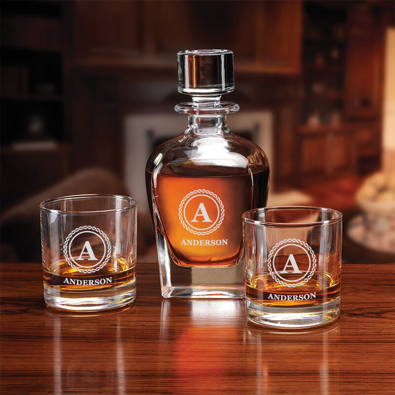 The Personalized Decanter Set 5590 001 3 2