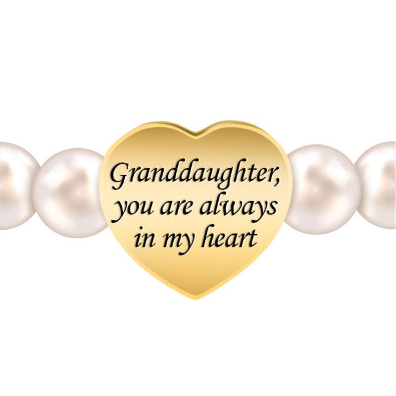 Granddaughter Always in My Heart Pearl Bracelet 2532 001 1 2