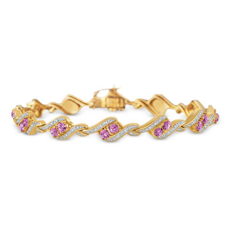 Birthstone  Diamond Bracelet 6321 001 7 10