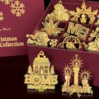 The 2020 Gold Christmas Ornament Collection 2161 006 8 13