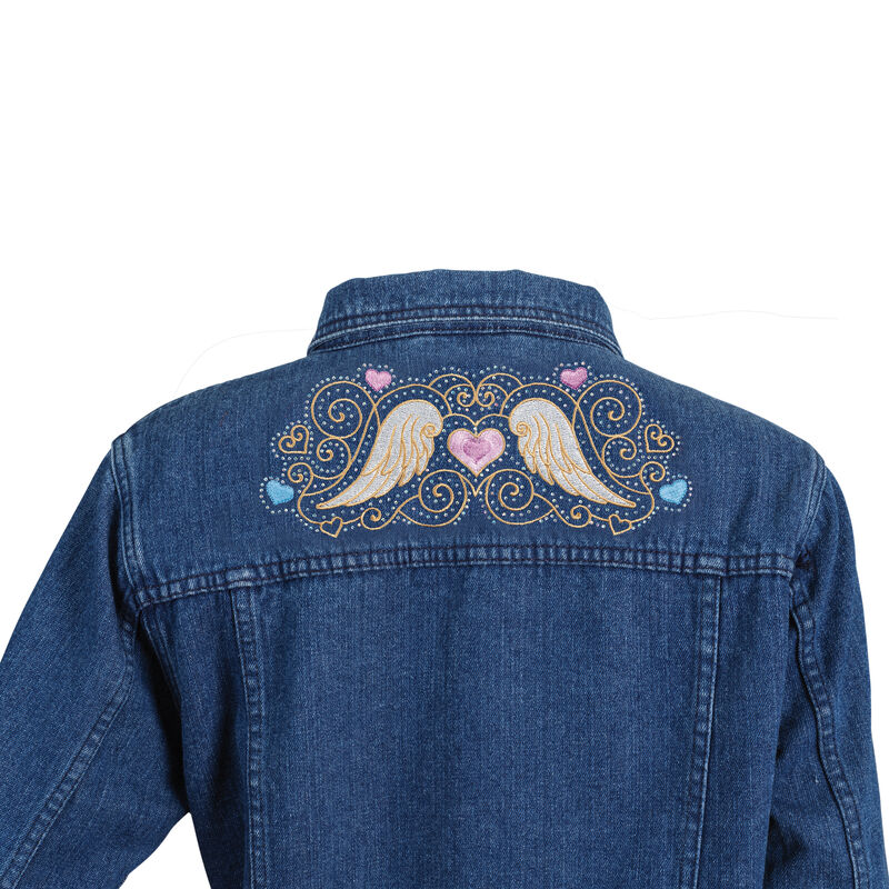 Touched by an Angel Denim Jacket 6681 0011 c detail