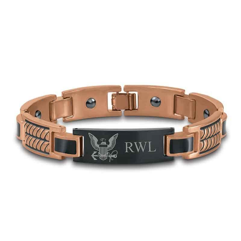 Honor Courage Commitment Copper Bracelet 1291 003 0 1