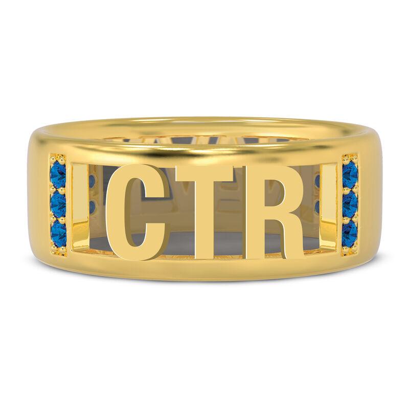 Military Initial Ring 10234 0023 b initial