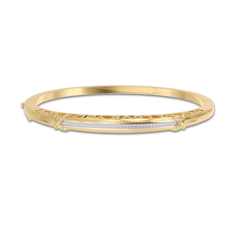 I Love You Diamond Kiss Bangle 10100 0016 a main