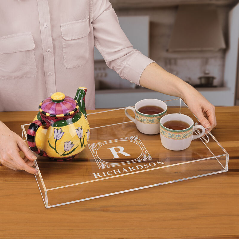 The Personalized Deluxe Acrylic Tray 5688 001 6 4