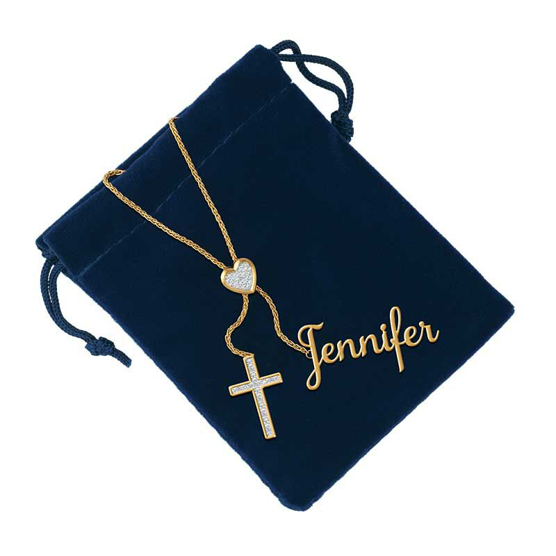 Personalized Cross Bolo Necklace 6513 001 5 2
