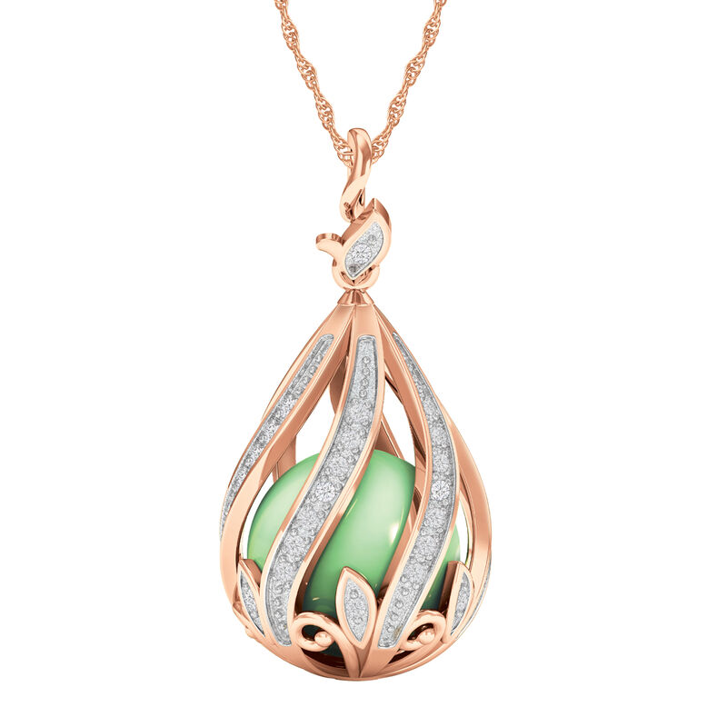 Copper Embrace Diamond and Jade Necklace 10306 0018 a main