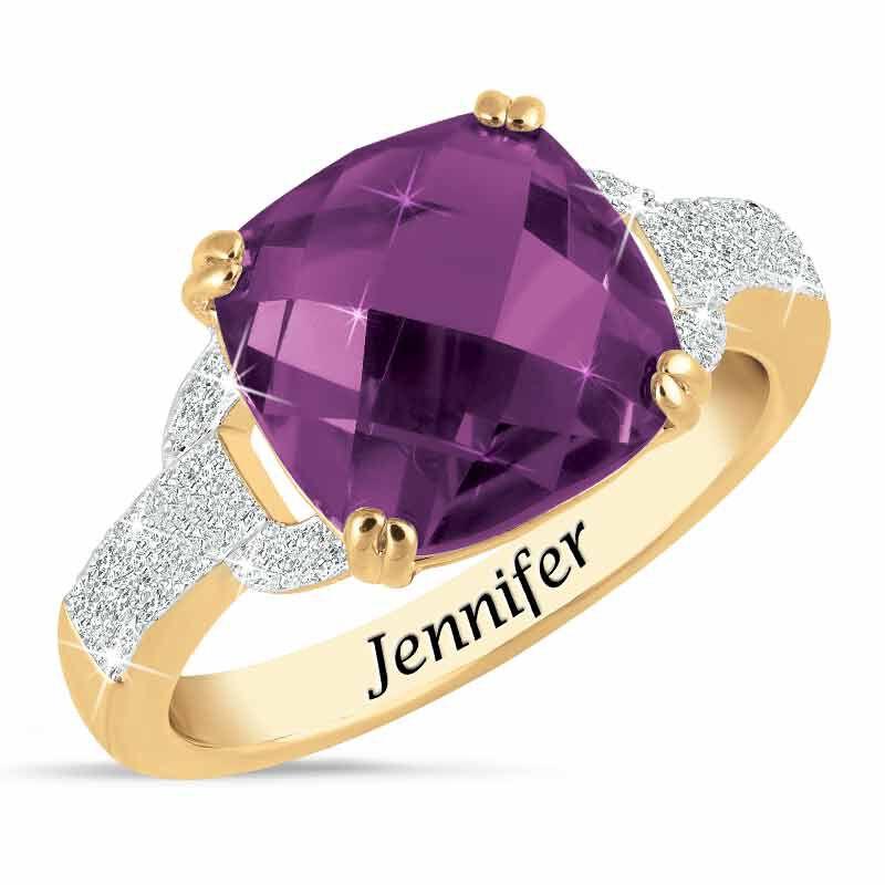 Birthstone  Diamond Ring 1159 001 5 2