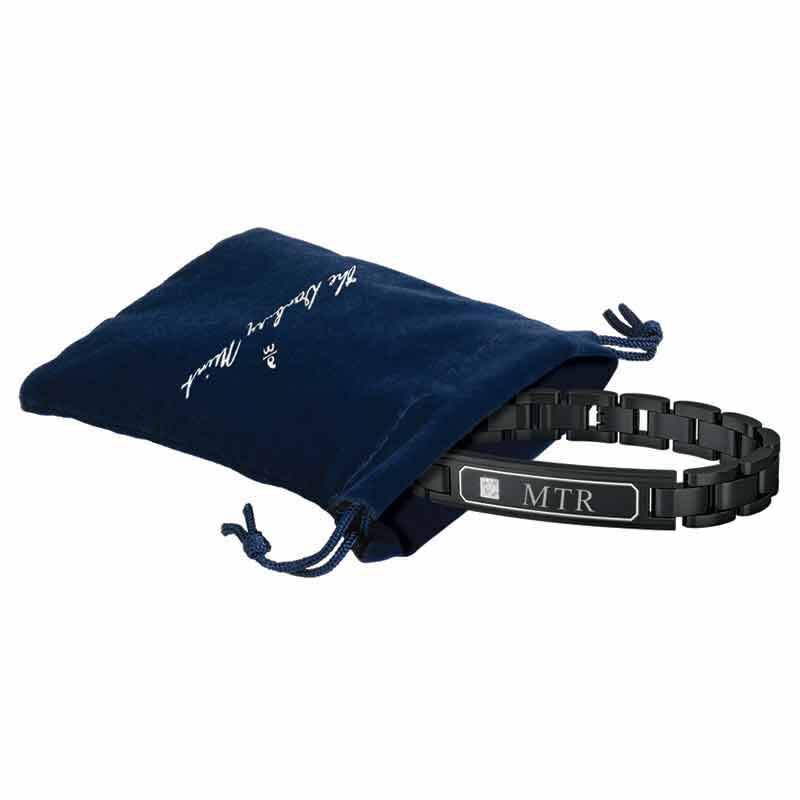 Grandson Personalized Diamond Bracelet 6033 001 6 3