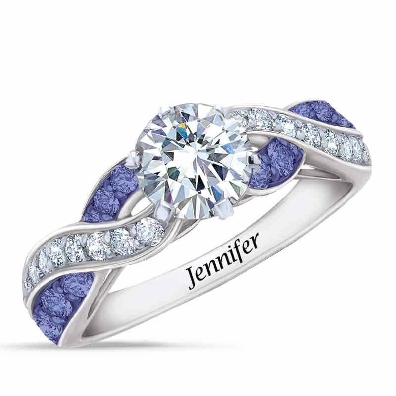 Birthstone Swirl Ring 6366 001 3 2