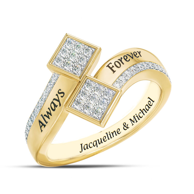 The Always Forever Diamond Ring 6499 0013 a main