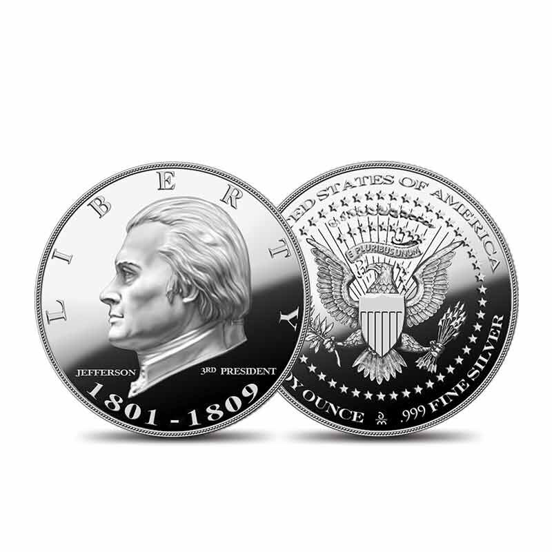 US Presidential Silver Commemoratives 9154 006 2 7