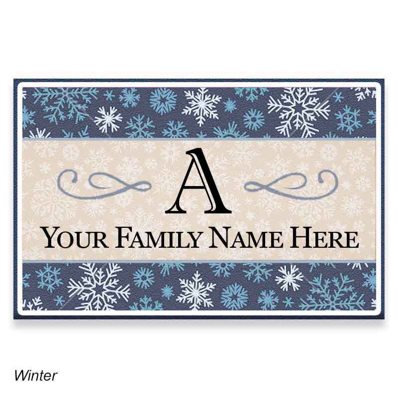 Family Seasonal Welcome Mats 1039 002 9 3