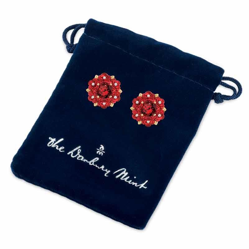 A Dozen Roses Diamond Earrings 1457 006 3 2