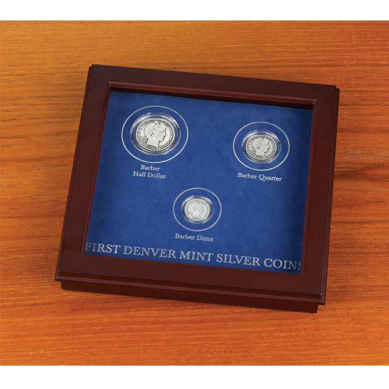 First Year Denver Mint Silver Coins 5167 001 6 2