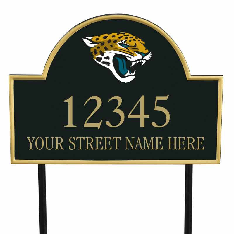 The NFL Personalized Address Plaque 5463 0355 q jaguars