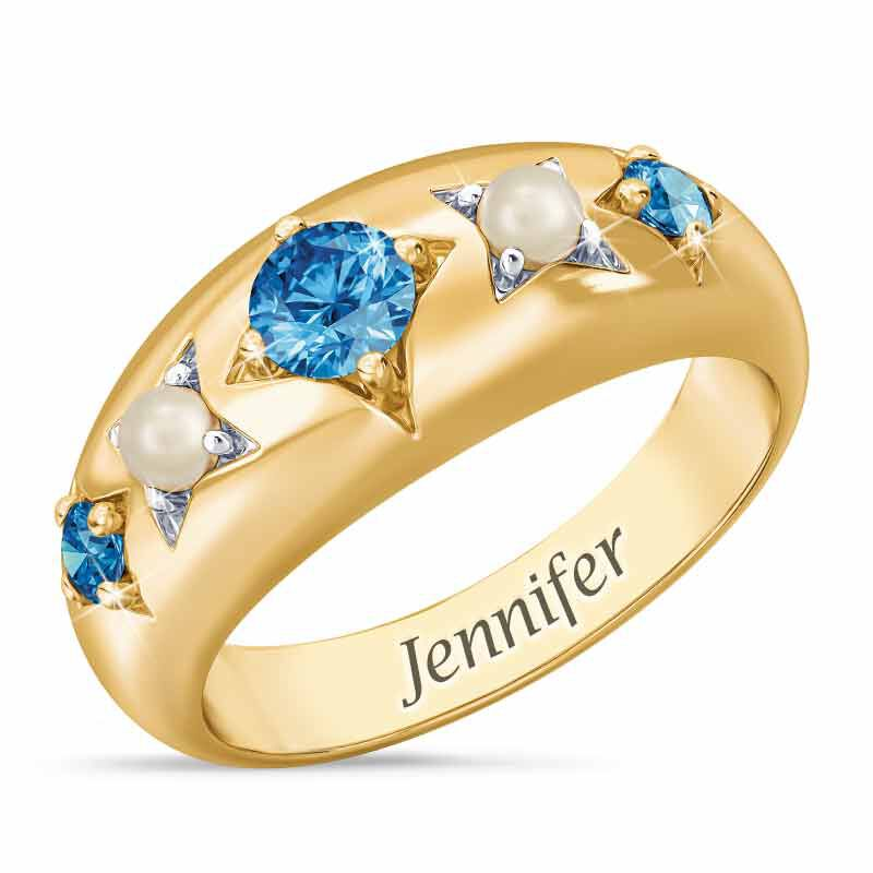 Royal Radiance Personalized Birthstone Ring 1906 001 1 12
