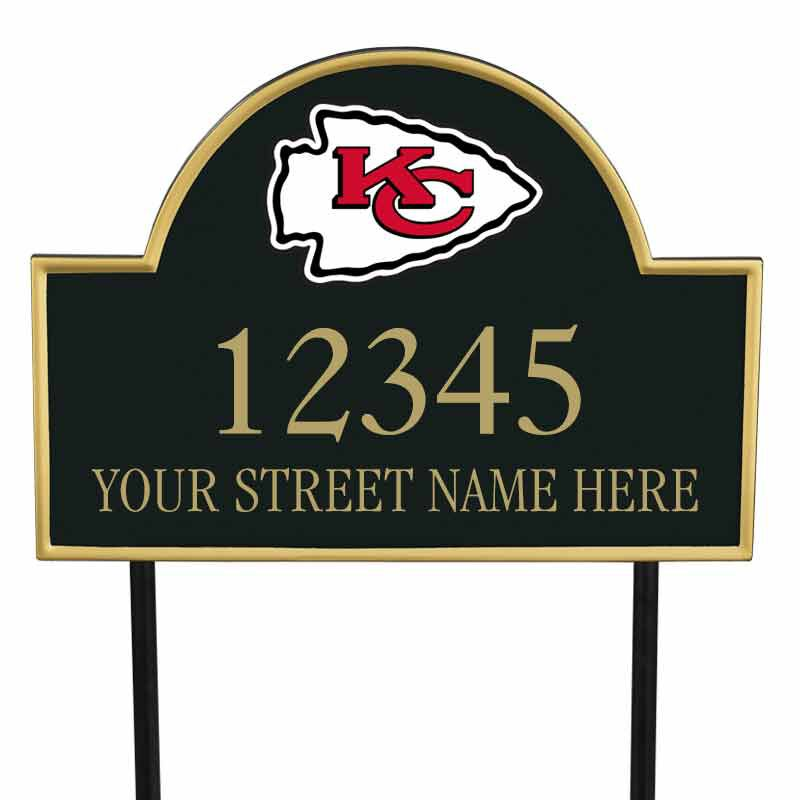 The NFL Personalized Address Plaque 5463 0355 j cheifs