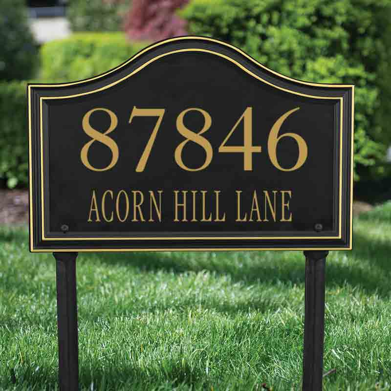 The Heritage Address Plaque 1020 001 2 2