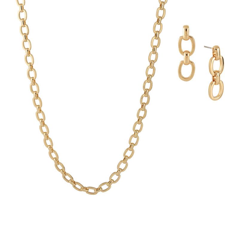 Golden Glow Triple Neck Ear Collection 10580 0015 c necklace