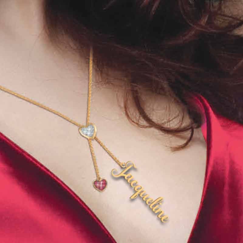 Daughter Personalized Birthstone Bolo Necklace 6525 001 1 8
