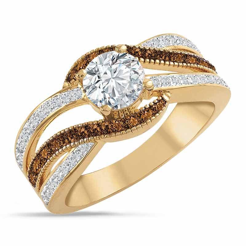 Majestic in Mocha Diamonisse Ring 6380 001 5 1