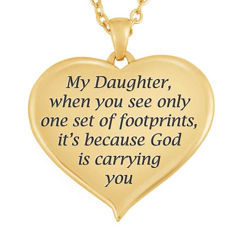 Footprints in the Sand Daughter Pendant 1453 001 8 2