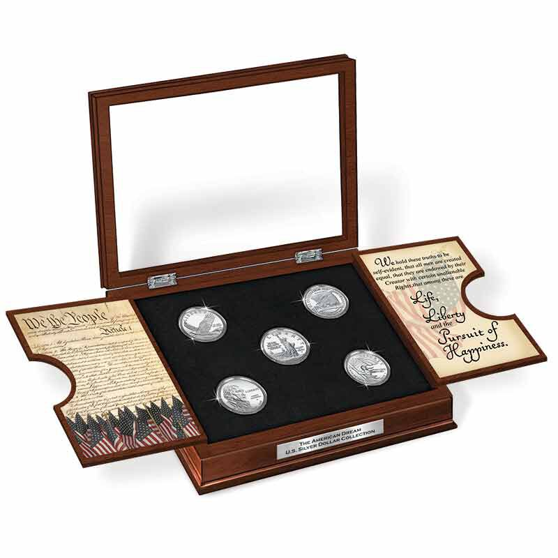 The American Dream US Silver Dollar Collection 6660 001 6 6