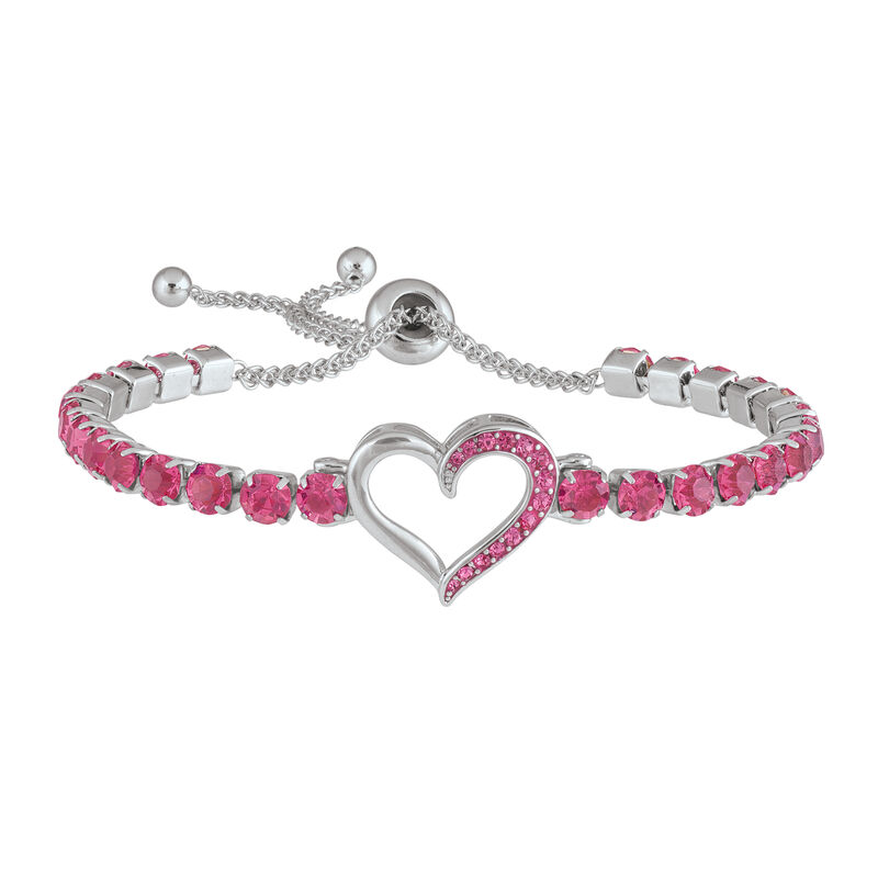A Year of Sparkle Tennis Bracelet Collection 6933 0017 b february