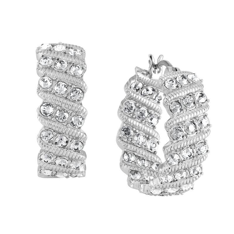 Birthstone Hoop Earrings 6003 0020 d april