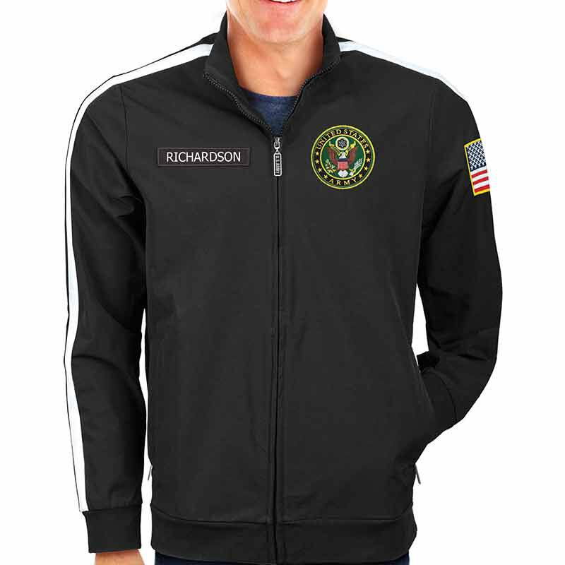 The Personalized US Army Track Jacket 6609 001 0 4