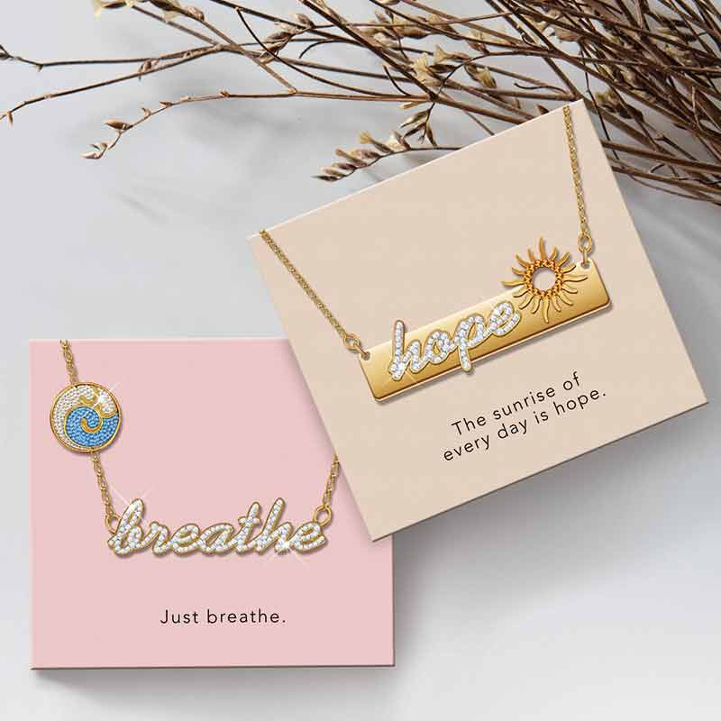 Words To Live By Necklace Collection 6443 001 0 4
