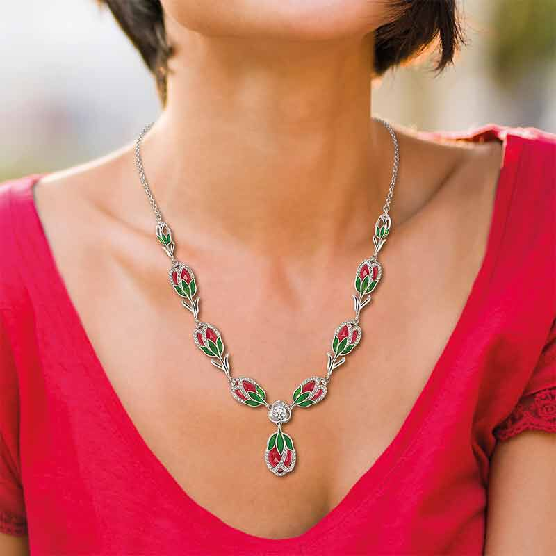The Tulip Blossoms Necklace 6440 001 3 3