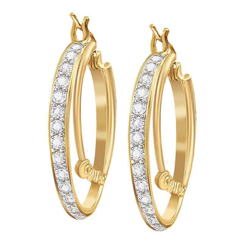 Personalized Double Hoop Earrings 6551 001 8 2