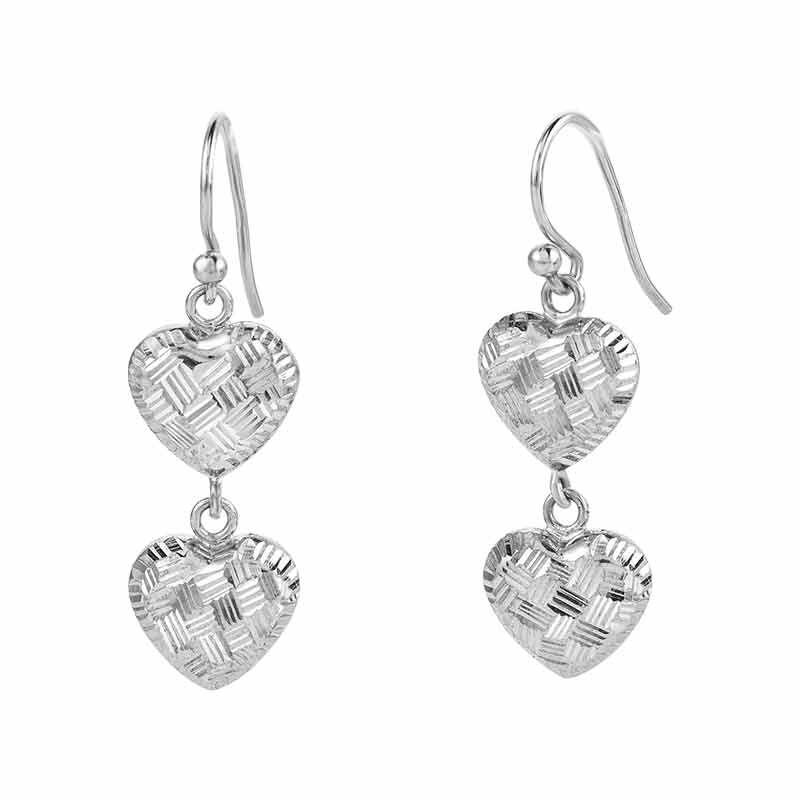 Sensational Silver Pendant  Earring Set 6367 001 2 3
