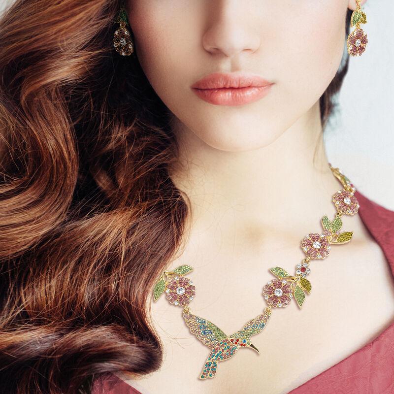 Soaring Splendor Hummingbird Neck and Earrings 10054 0012 m model