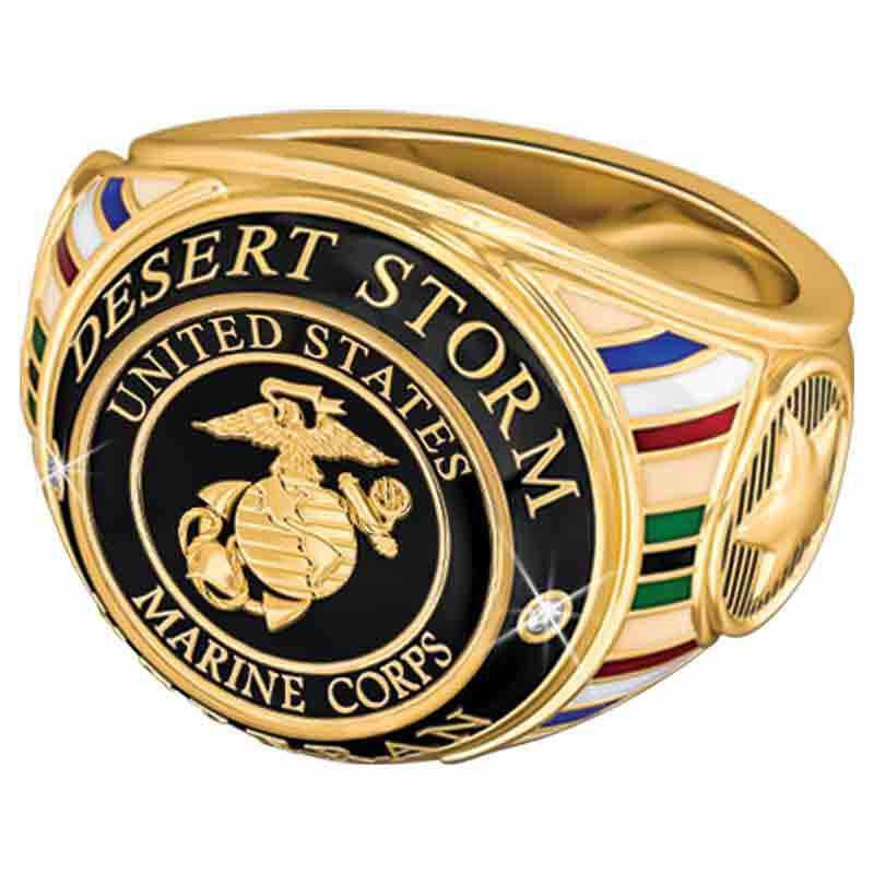 US Marine Corps Veteran Ring 1861 003 0 2