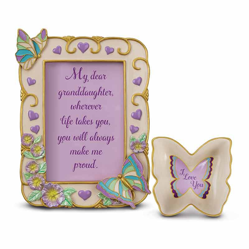 My Granddaughter Butterfly Photo Frame 6034 001 5 1